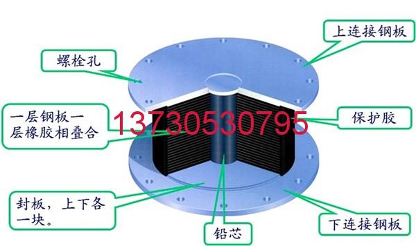 LRB铅芯隔震橡胶支座LRB铅芯隔震橡胶支座 《公路桥梁铅芯隔震橡胶支座》(JT/T822-2011)